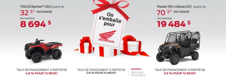 On s'emballe pour Honda