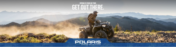 Vente du printemps – Polaris SPORTSMAN