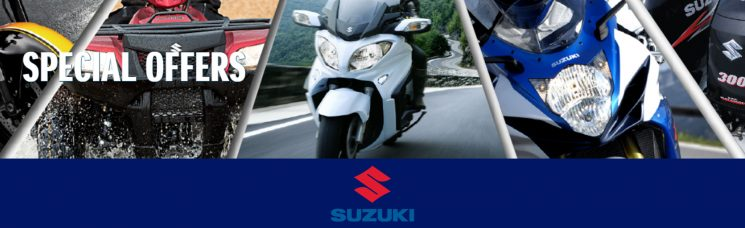 New Year, New Ride Sales Event – Suzuki