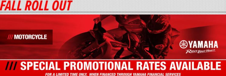 Fall Roll Out – Yamaha