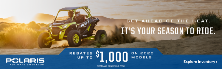 New Year Sales Event – Polaris RZR