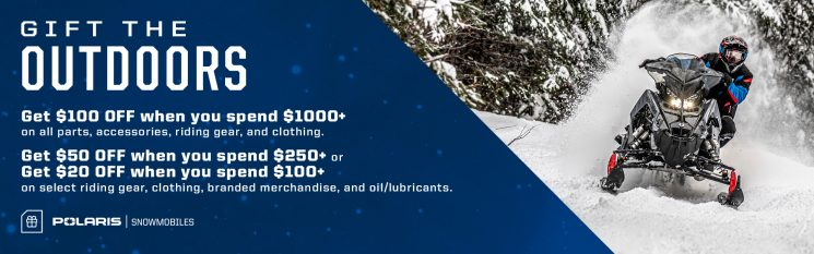 Holiday Sales Event – Polaris Snowmobiles