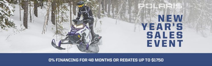 New Year Sales Event – Polaris Snowmobiles